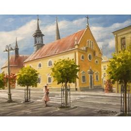 Obraz - Akryl na plátne - Evanjelický kostol Prešov - Baňas Matúš