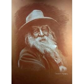 Obraz - pastel - Whitmann - Ján Radvanský