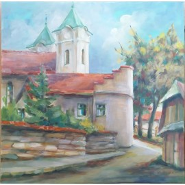 Obraz - Akryl - Ku Františkánom - Mgr. Margita Rešovská
