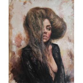 Obraz - Olejomaľba - Neznáma pani - Igor Navrotskyi