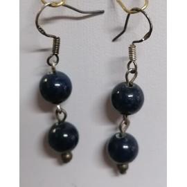 Lapis lazuli - náhrdelník,náušnice