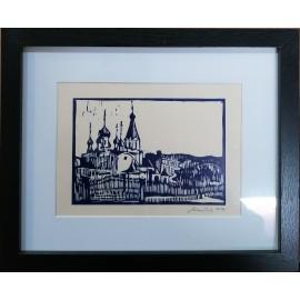 Grafika - Linoryt- Prešov 1 - Mgr. Art. Jaroslav Staviščák