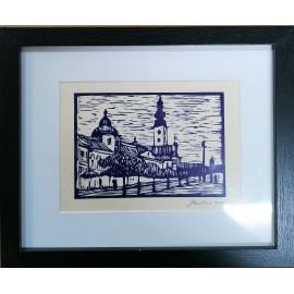 Grafika - Linoryt- Prešov 2 - Mgr. Art. Jaroslav Staviščák