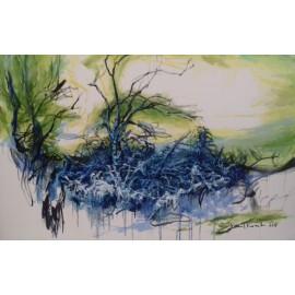 Obraz - Olejomaľba - Fragment - Mgr. Art Kamil Kozub