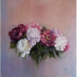 Obraz - Olejomaľba - Kytica kvetov I. - Igor Navrotskyi