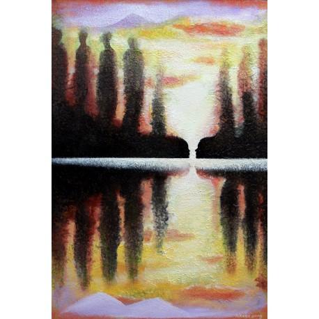 Obraz - Na druhom brehu (2009)