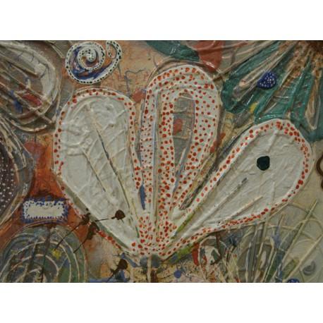 Obraz -Flóra - ručne maľovaný obraz