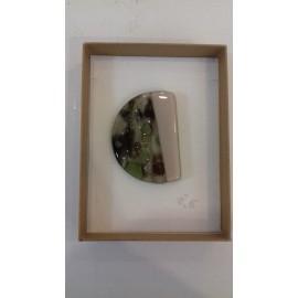 Brošňa-sklo, Akad. mal. Darina Kopková-Dizajnový sklenený šperk