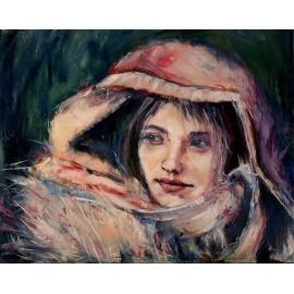 Molnárová Katarína- Portrét dievčaťa