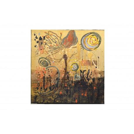 Abstrakt 3 - ručne maľovaný obraz