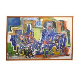 Obraz Abstrakt - ručne maľovaný obraz