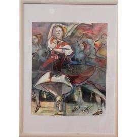Obraz - Akvarel - Na detviansku nôtu - Mgr. Art. Ľubomír Korenko