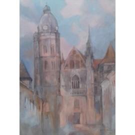 Obraz - Akryl - Dóm sv.Alžbety - Janka Onušková