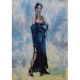 Obraz - Akryl- Rihanna - Florková Katarína