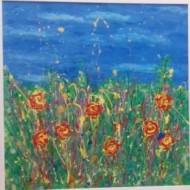 Anna Szatványi - Modrý kvet