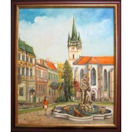 Obraz - Olejomaľba - Prešov Neptún, č. 44 - Vladimír Semančík