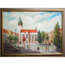 Obraz - Olejomaľba - Kostol sv. Mikuláša, č. 45 - Vladimír Semančík
