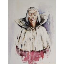 Obraz - Olejomaľba - Snehová kráľovná - Igor Navrotskyi
