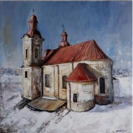 Obraz - Olejomaľba - Kostol sv. Štefana - Košice - Igor Navrotskyi