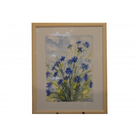 Akvarel , Nevädza - ručne maľovaný obraz