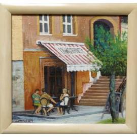 Obraz - Olejomaľba na sololite - Prešov Bar - Jozef Onduš