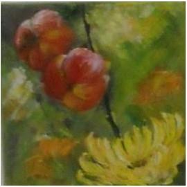 obraz - Chryzantéma