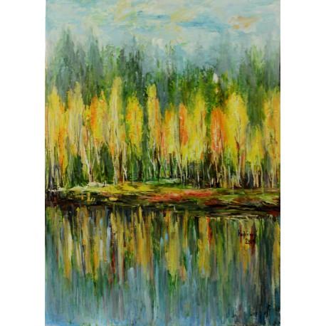 Obraz ručne maľovaný