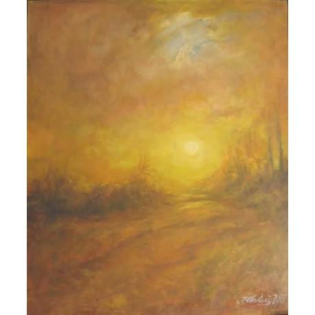 Obraz - Západ Slnka