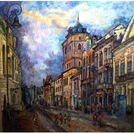 Originálny obraz-Košice
