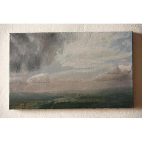 Originálny obraz-Krajina-Olej na plátne