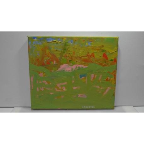 Olejomaľba, ručne maľovaný originál