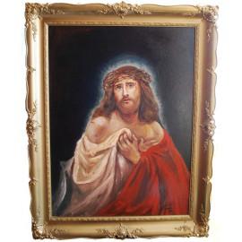 Obraz - Kombinovaná technika - Ježiš - Peter Treciak