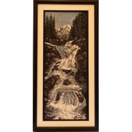 Obraz - Olejomaľba - Studenovodské vodopády - Peter Treciak