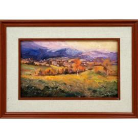 olejomaľba-Obraz originál - Šumavská krajina