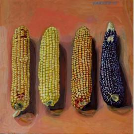Originál obraz- Zátišie - kukurica