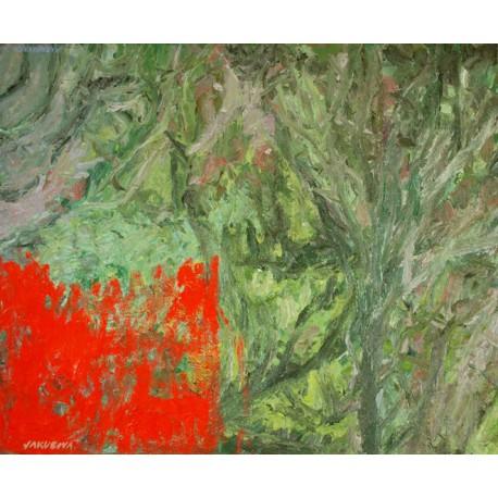 Originálny obraz - olej na plátne-Abstrakt