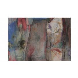 Originálny obraz - akvarel -Rovnováha