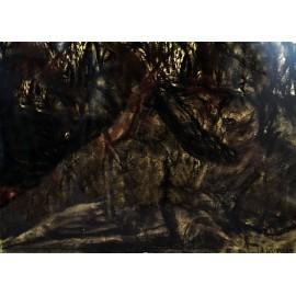 Originálny obraz -Krajina- pastel