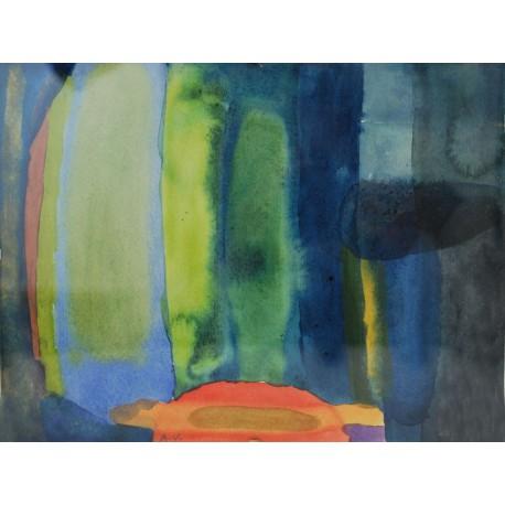 Obraz - Rovnováha, ručne maľovaný