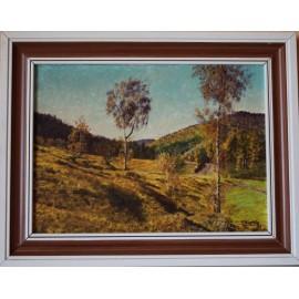 Ručne maľovaný obraz - Nízke Tatry