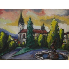 Obraz -Prešov 6 - Viliam Volk