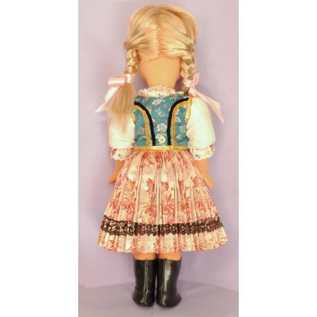 Bábika v kroji -krojovaná bábika