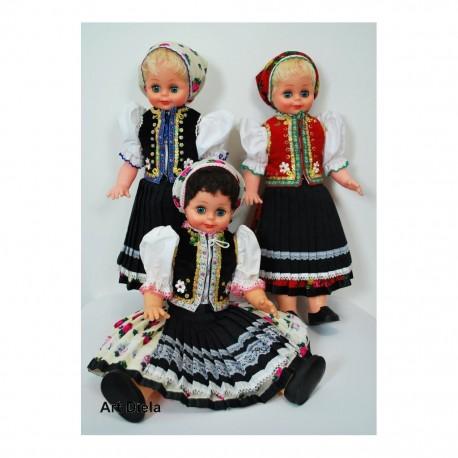 Bábika v kroji - krojovaná bábika