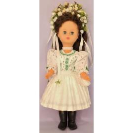 Bábika v kroji - krojovaná bábika - mladucha