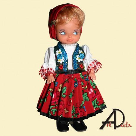 Bábika v kroji-krojovaná bábika