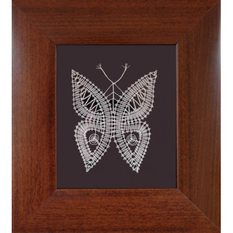 Motýľ - paličkovaný obrázok