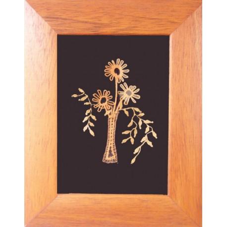 Kvety - paličkovaný obrázok