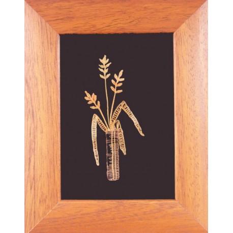 Kvet - paličkovaný obrázok