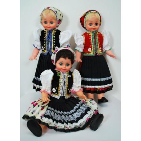 Krojovaná bábika - Zemplínsky kroj