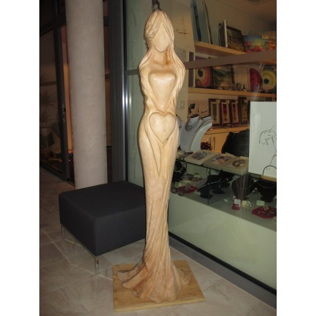 Socha - Drevená Plastika (Lipa) - Anjel, Víla Lásky